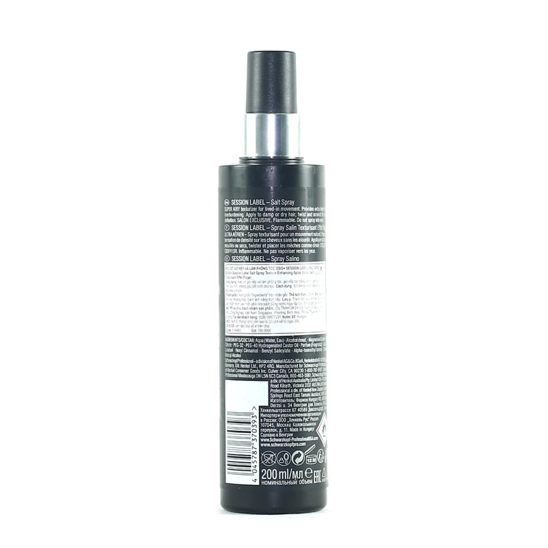 Osis+ Session Label Salt Spray 200ml