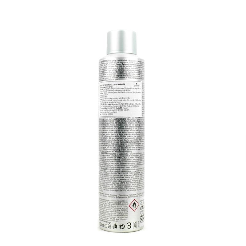 Gôm xịt tóc nam Osis+ 1 Sparkler 300ml