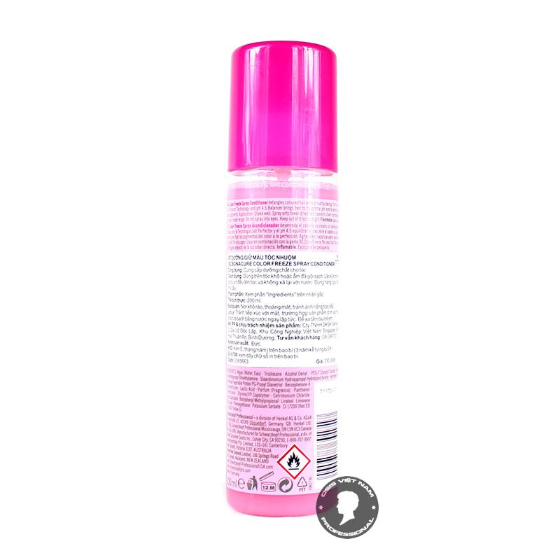 Bạn hãy lắc đều nó lên trước khi xịt nhé Chỉ xịt ở phần thân giữa và ngọn tóc khô Sản phẩm có thể sử dụng hàng ngày